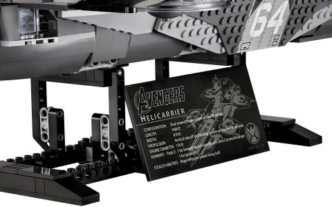 #76042 LEGO SHIELD Helicarrier Stats