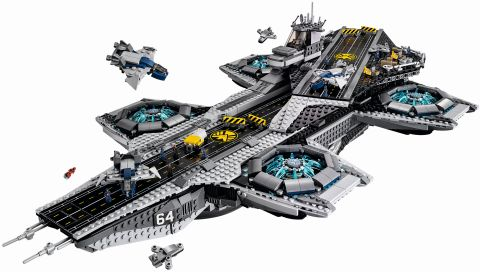 #76042 LEGO SHIELD Helicarrier Top