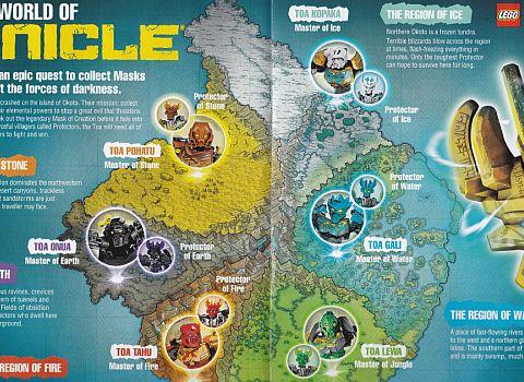 LEGO Club Magazine BIONICLE Island