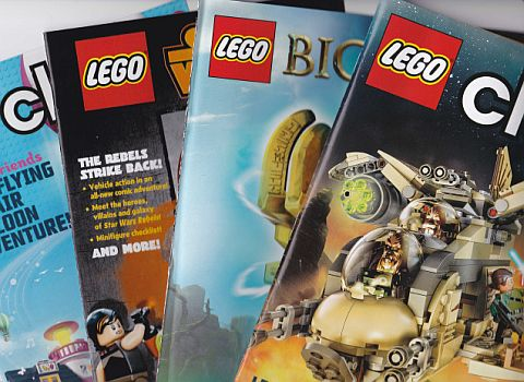 LEGO Club Magazine BIONICLE