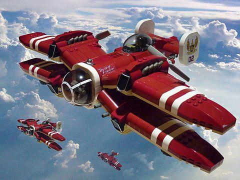 LEGO Ideas Airplane by JonHall18