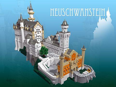 LEGO Ideas Castle by t-brick