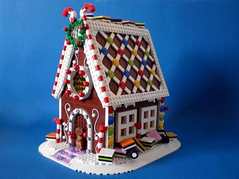 LEGO Ideas Gingerbread House by Swan Dutchman