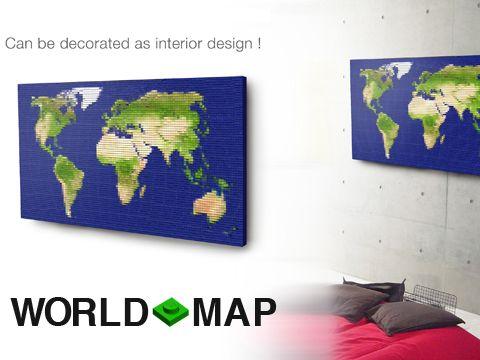 LEGO Ideas World Map by TPNK