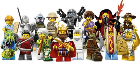 LEGO Minifigs Series 13 Collection
