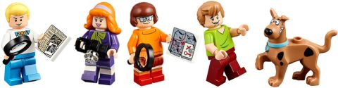 LEGO Scooby-Doo Minifigures