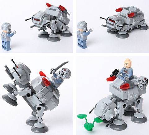 LEGO Star Wars MicroFighters AT-AT SheogorathForever