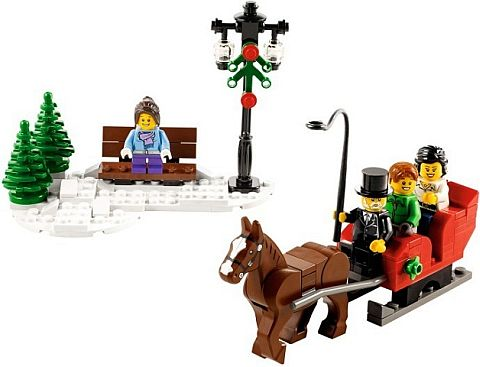 LEGO Street Light in Christmas Set
