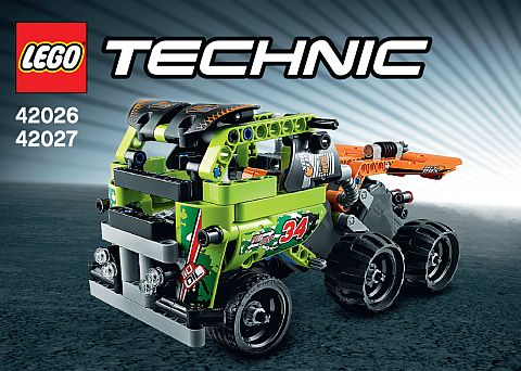 LEGO Technic Pull Back Combined Model 2