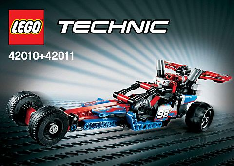 LEGO Technic Pull Back Combined Model 3