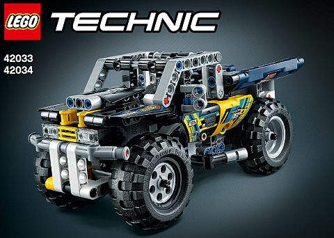 LEGO Technic Pull Back Combined Model