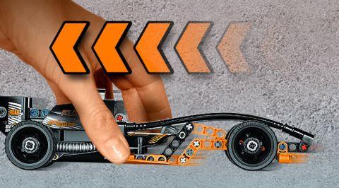 LEGO Technic PullBack Car