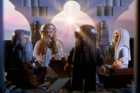 LEGO The Hobbit Stop-Motion Video by the Brotherhood Workshop