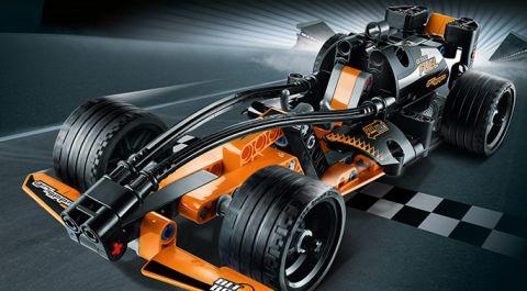 LEGo Technic PullBack Car 3