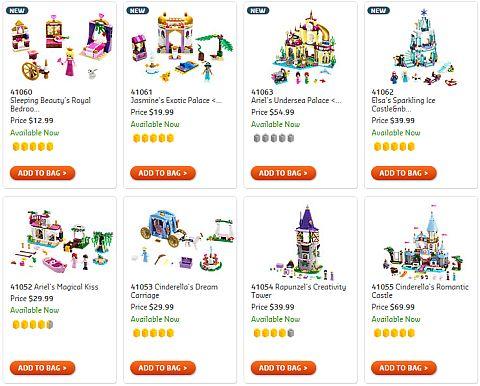 Shop LEGO Disney Princess