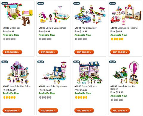 Shop LEGO Friends