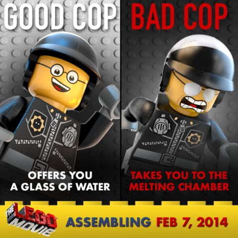 The LEGO Movie Bad Cop