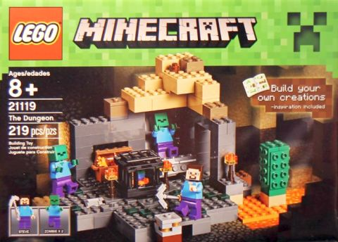 #21119 LEGO Minecraft Box