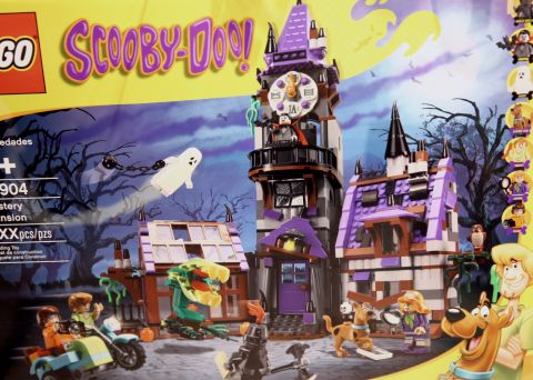 #75904 LEGO Scooby-Doo Details