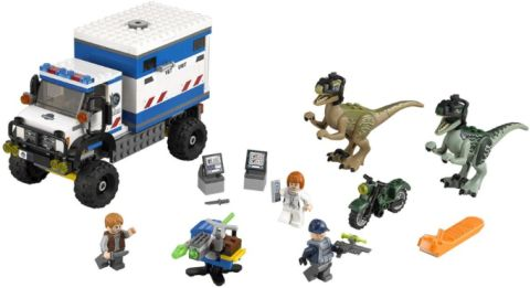 #75917 LEGO Jurassic World Details