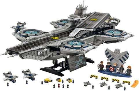 #76042 LEGO SHIELD Helicarrier Available Now