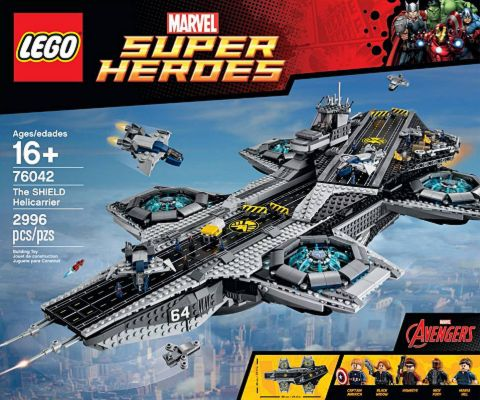 #76042 LEGO SHIELD Helicarrier