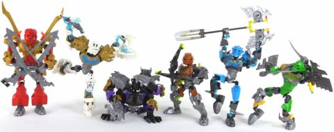 LEGO BIONICLE Review - Posing