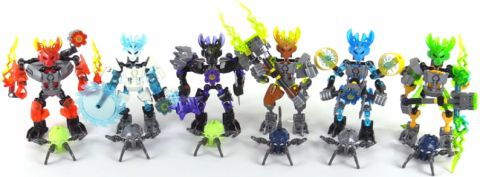 LEGO BIONICLE Review - Protectors