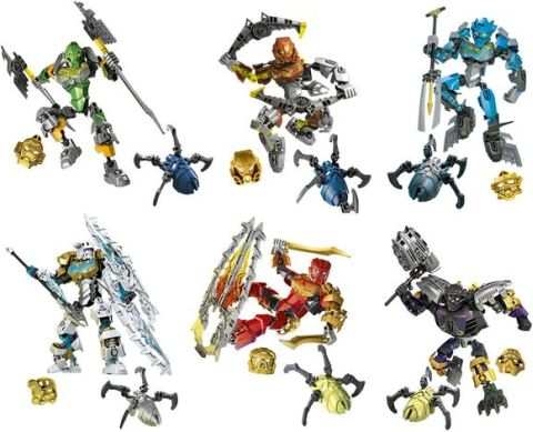 LEGO BIONICLE Review - Sets