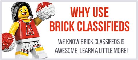 LEGO Classifieds Website