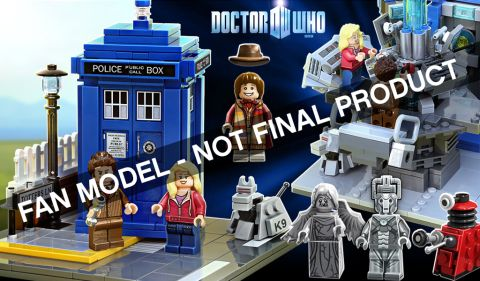 LEGO Ideas Doctor Who