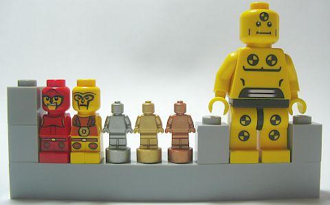 LEGO Micro-Figures & Nano-Figures