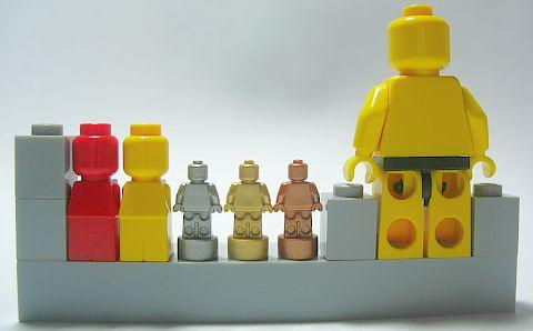 LEGO Microfigs & Nanofigs