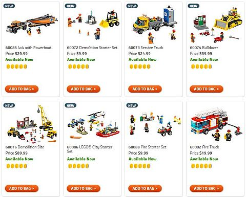Shop 2015 LEGO City Sets