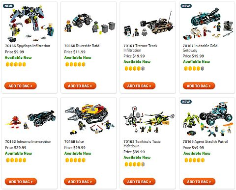 Shop 2015 LEGO Ultra Agents