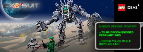 Shop LEGO Ideas Exo Suit