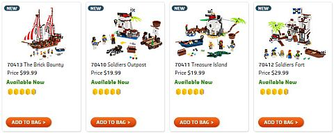 Shop LEGO Pirates Sets