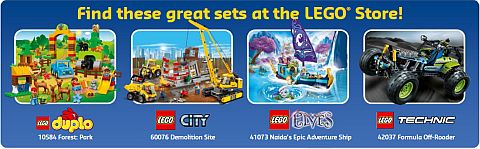Shop LEGO Sets March 2015