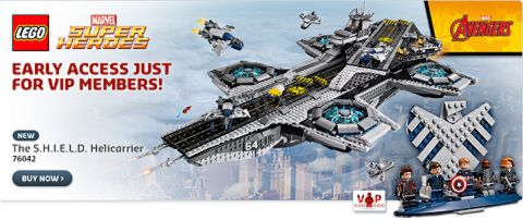 Shop LEGO Super Heroes SHIELD Helicarrier