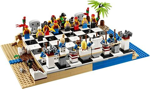 #40158 LEGO Pirates Chess Set
