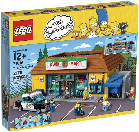 #71016 LEGO Kwik-E-Mart Box