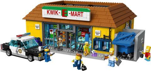 #71016 LEGO Kwik-E-Mart Details