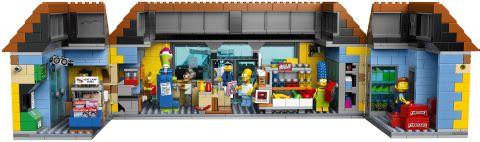 #71016 LEGO Kwik-E-Mart Inside Details