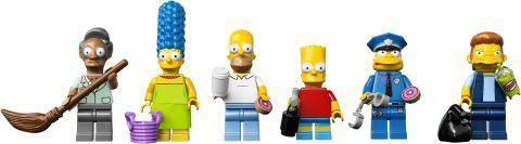 #71016 LEGO Kwik-E-Mart Minifigures