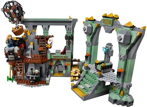 #79018 LEGO The Hobbit Lonely Mountain Review