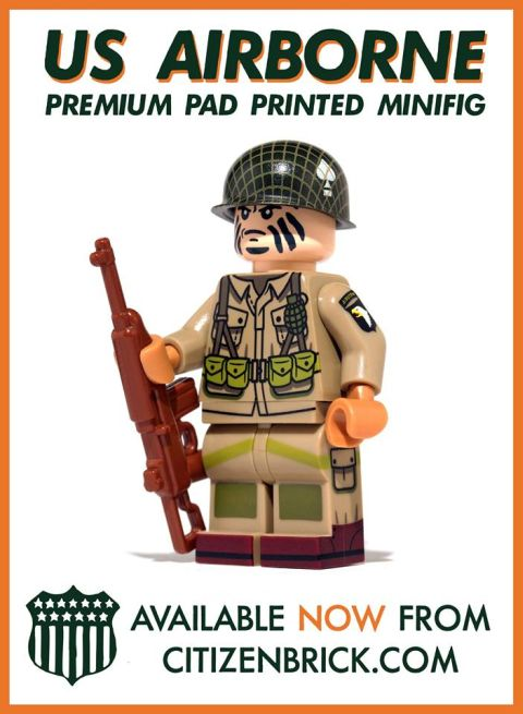 LEGO Military Minifig by CitizenBrick