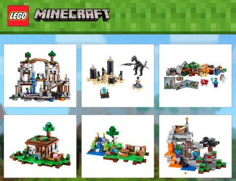 LEGO Minecraft Collection