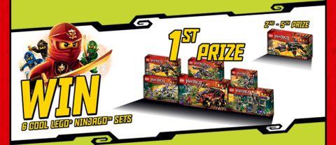 LEGO Ninjago Contest Prizes