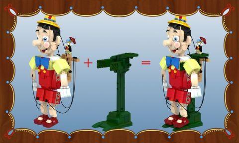 LEGO Pinocchio Details