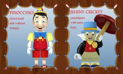 LEGO Pinocchio Project